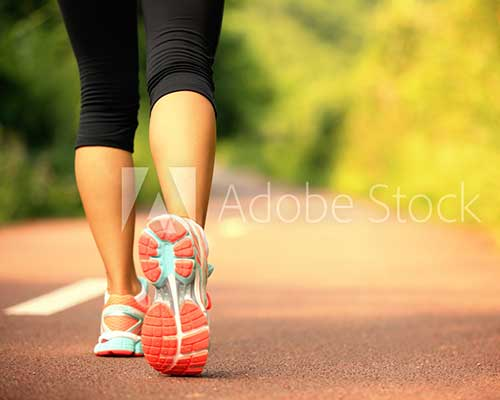 Runners Struggle with Heel Pain